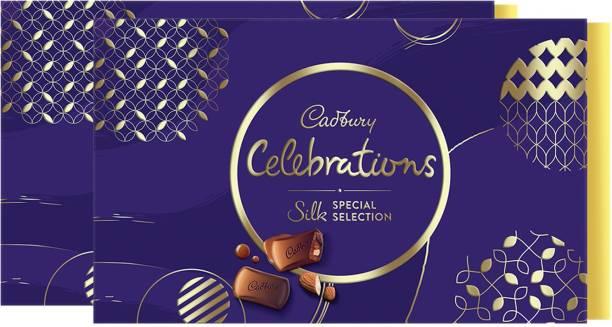 Cadbury Celebrations Silk Special 233 G X 2 (Pack of 2) Bars