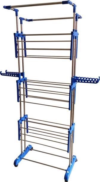 TNC by TNC TNC Steel Floor Cloth Dryer Stand T-CDS-JB2SS-JUMBO-0126