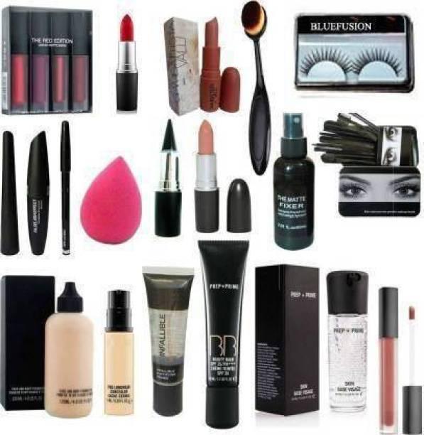 GMG Cosmetic Makeup Combo Kit Of 19 Pieces Items Set