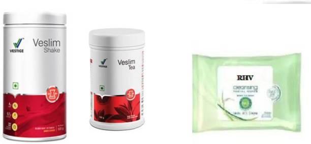 RHV Veslim shake, 500g and VESLIM TEA with wips (3 Items in the set)