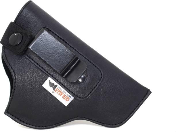 GunAlly IWB 32 Bore Revolver Gun Holster Cover Pistol/Gun Cover Free Size