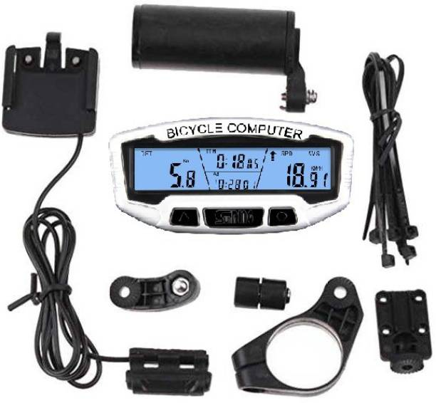 Sunding SD-558A wired Waterproof with 28 Smart features like Over Spped Reminder Wired Cyclocomputer