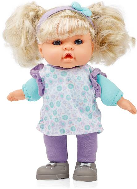 Miss & Chief 9.5 inches Premium Quality Cute Baby Doll with Baby Sound, Extreme fun for kids
