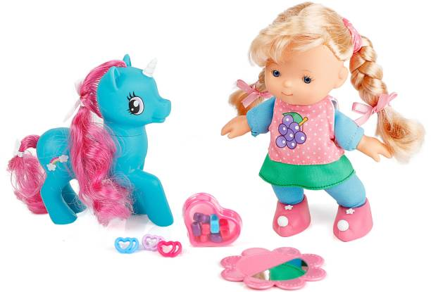 Miss & Chief FAIRY Premium Quality Extreme Cute DOLL WITH PONY SET