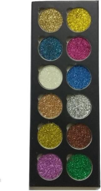 Imported 12 Color High Quality Desert Dusk Eyeshadow Palette (multicolor) 60 g