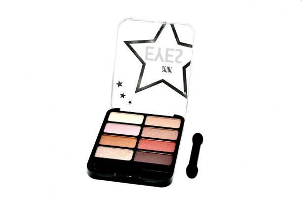 Imported 8 Color Professional Matt- Shimmer Dazzling Eye Shadow Palette Dazzling Eyes (01) 18.85 ml