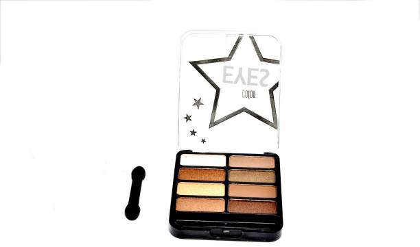 Imported 8 Color Professional Dazzling Eyes Eyeshadow Palette 18.85 ml