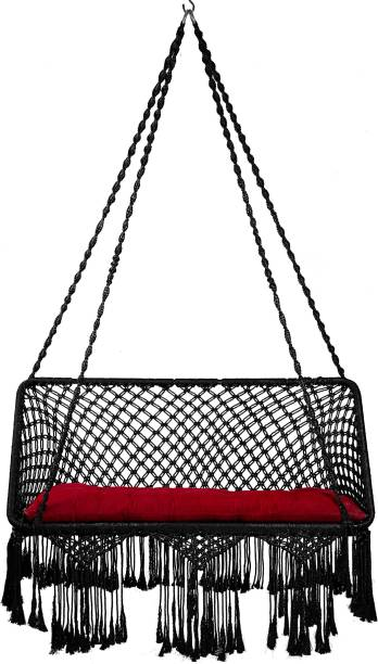 Swingzy Premium Double Seater Hanging Swing Polyester Large Swing