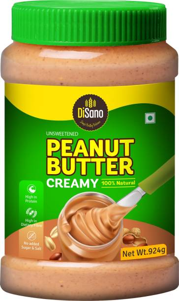 DiSano All Natural Peanut Butter (Creamy Unsweetened) 924 g