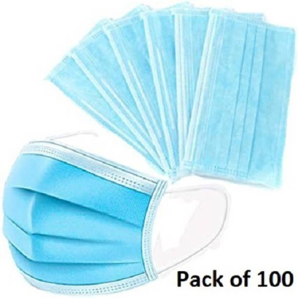 Nea 3 ply - 3 layered surgical - Pharmaceutical mask with meltblown fabric anti viral and anti pollution surgical face mask Mask-100 - 0001 - Meltblown Water Resistant Surgical Mask With Melt Blown Fabric Layer