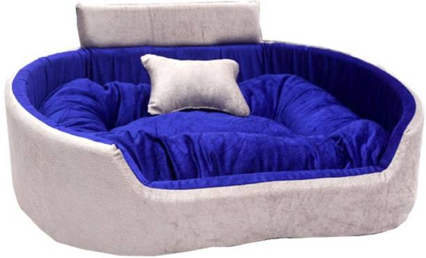 Little Smile luxurious Bed for Dog and Cat ,Reversible. L Pet Bed