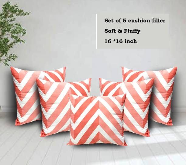 corious Microfibre Stripes Cushion Pack of 5