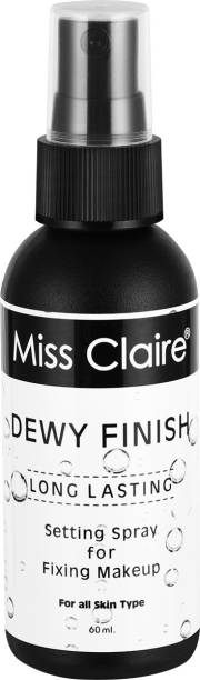 Miss Claire Fixing Spray for Makeup 02 Dewy Finish Primer  - 60 ml