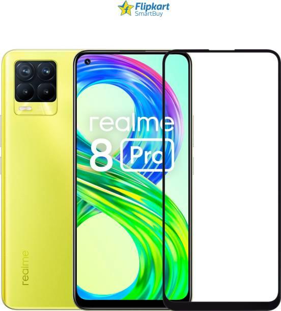 Flipkart SmartBuy Edge To Edge Tempered Glass for Realme X7, Realme 7 Pro, Realme 8, Realme 8 Pro, Realme X7 Pro, Vivo V21