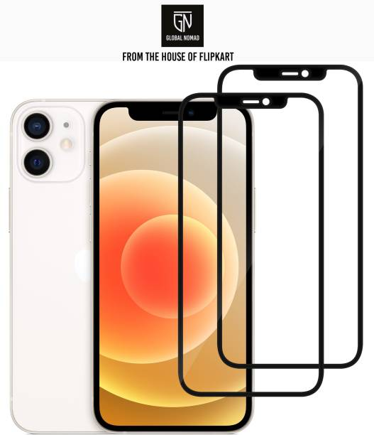GLOBAL NOMAD Edge To Edge Tempered Glass for Apple Iphone 12 Mini