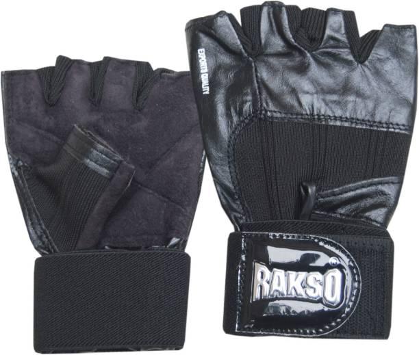 Rakso Export Quality Gym Gloves Gym & Fitness Gloves