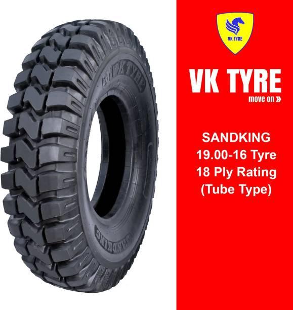 VK TYRE SANDKING 9.00-16 TRACTOR TRAILER TYRE 4 Wheeler Tyre
