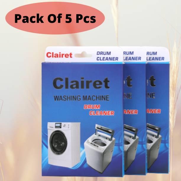 CLAIRET Washing Machine descale powder pack of 05 ( 100 Grams In Each Pack) Detergent Powder 500 g
