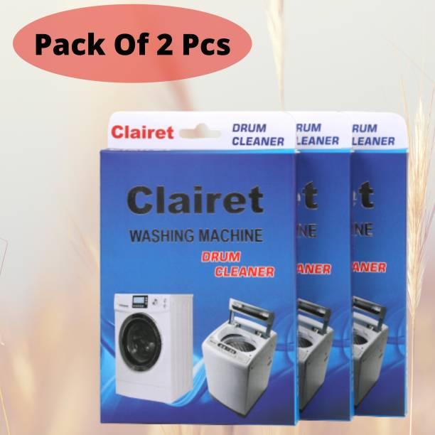 CLAIRET Washing Machine descale powder pack of 02 ( 100 Grams In 1 Pack) Detergent Powder 200 g