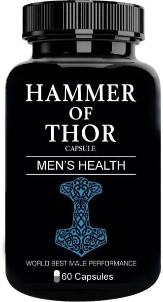 hammer of thor Original Capsule For Performance Stamina Pleasure Size Immunity Booster