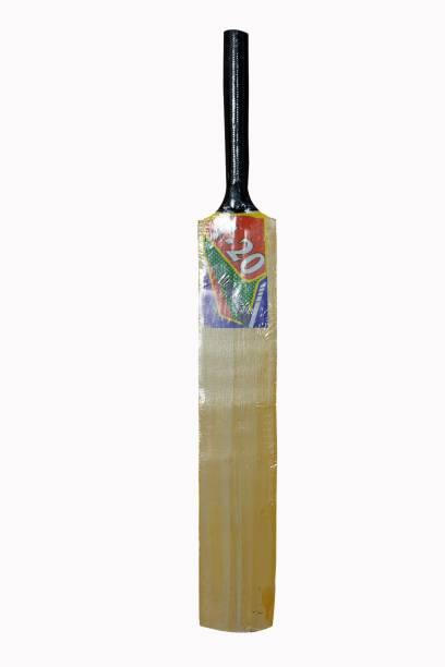SPORTSHOLIC New SSI Wooden Tennis Ball Cricket Bat Size 2 For Kids 6 To 8 Years Poplar Willow Cricket  Bat