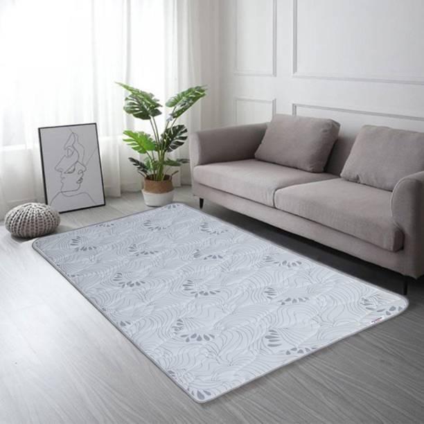 Springtek Roll-Up Travel Lite/Guest Bed/Floor Mat, Mattress 1 inch Single PU Foam Mattress