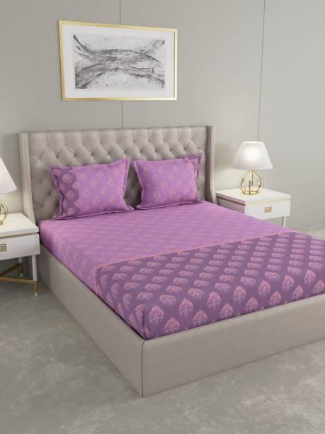 Raymond Home 160 TC Cotton Double Motifs Bedsheet