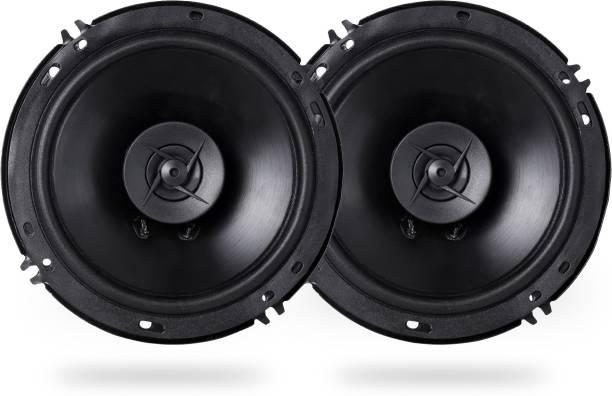 godryft Extra Bass Sonus 6'' Inch 330W 2 Way Super Bass Series Coaxial Car Speaker, Set of 2 Coaxial Car Speaker