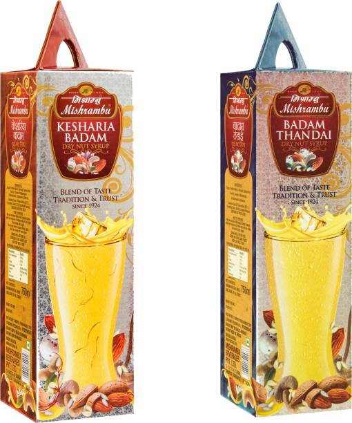 Mishrambu Beverages Private Limited MISH1005 KESHARIA BADAM & BADAM THANDAI