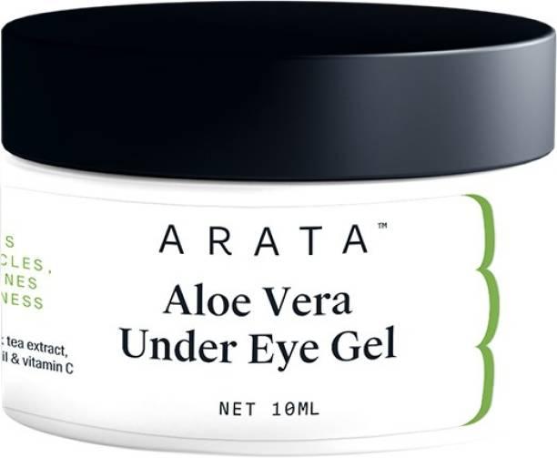 ARATA Aloe Vera Under Eye Gel For Dark Circles, Fine Lines & Puffiness