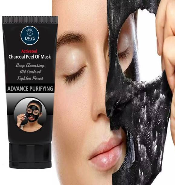 7 Days Activated Charcoal Peel Off Mask