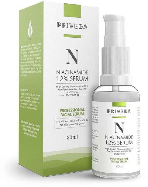 Priveda Niacinamide Face Serum For Acne Marks And Acne Prone Skin For Men and Women
