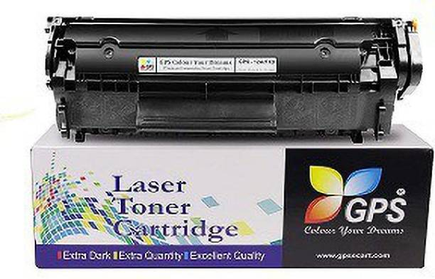 GPS Colour Your Dreams 12A Black Toner Cartridge / Q2612A HP 12A Black Toner Compatible / HP LaserJet 1010, 1012, 1015, 1018, 1020, 1022, 1022n, 3020, 3030, 3050, 3052, 3055, M1005, M1319f Black Ink Cartridge
