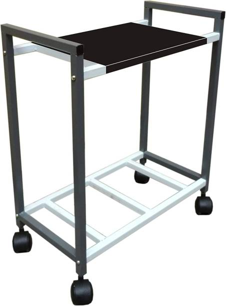DALUCI Metal Trolley Inverter Battery Trolley for Inverter and Battery