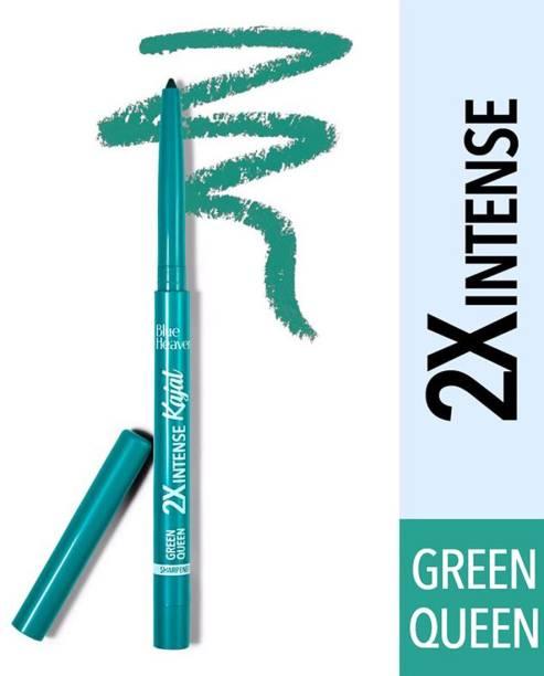 BLUE HEAVEN Soft Kajal Eyeliner - Green