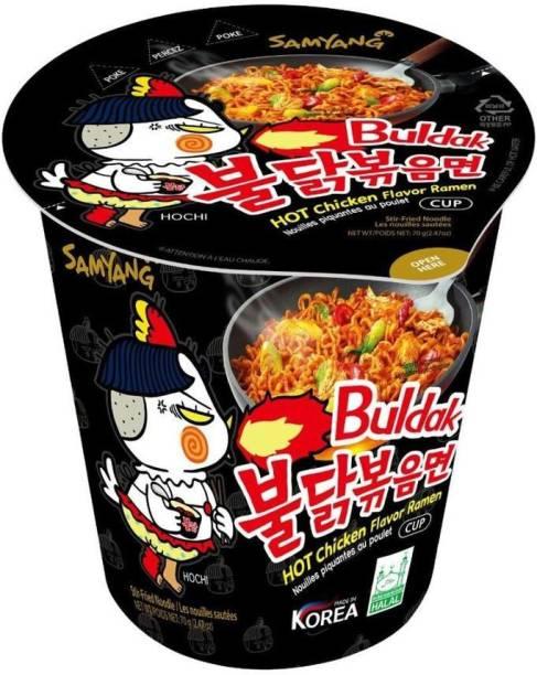 Samyang Hot Chicken Flavor Ramen, 70 gm Cup Noodles Non-vegetarian