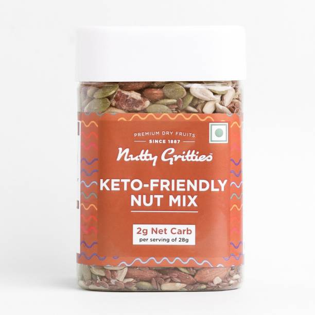 Nutty Gritties Keto Friendly Nut Mix Assorted Seeds & Nuts