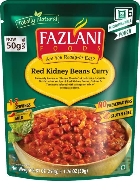 FAZLANI FOODS Rajma Masala (Red Kidney Beans) Curry, (Pack of 1, 250gm) 250 g