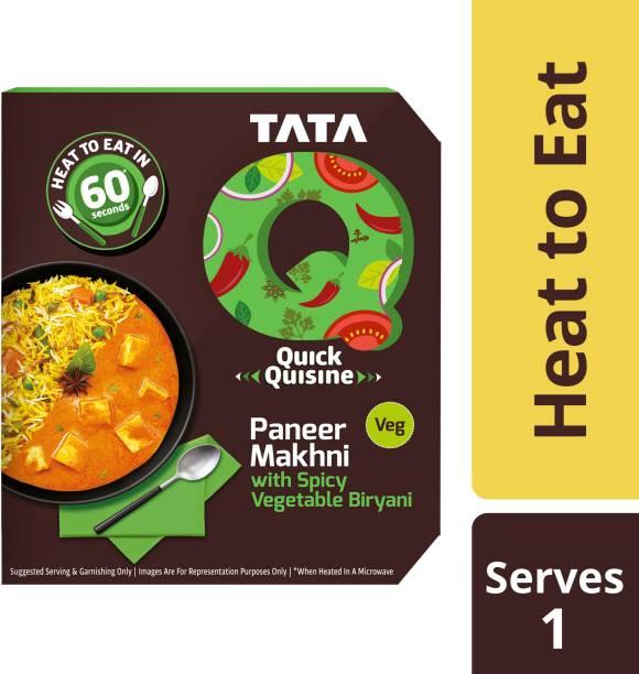 Tata Q Paneer Makhni with Spicy Vegetable Biryani 330 g