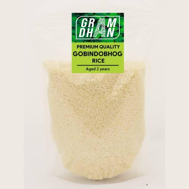 GRAMDHAN GOBINDO BHOG SWEET BUTTER RICE Gobindobhog Rice (Small Grain, Unpolished)