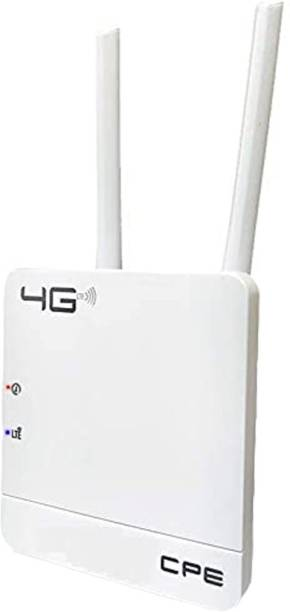 CareME CPE MT-300H 300Mbps Wireless 4G LTE, Wi-Fi 300H, Plug and Play, Parental Controls, Guest Network, with Nano SIM Card Slot, WiFi Router 300 Mbps Router
