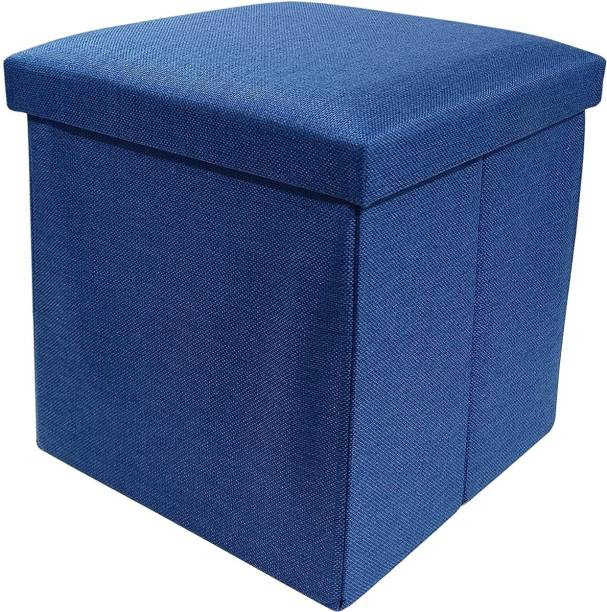 GTC Portable & Foldable Storage Stool for Living Room (363-9) Polyester, Living & Bedroom Stool