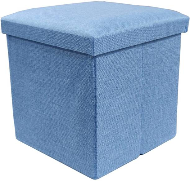 GTC Portable & Foldable Storage Stool for Living Room (363-10) Polyester, Living & Bedroom Stool