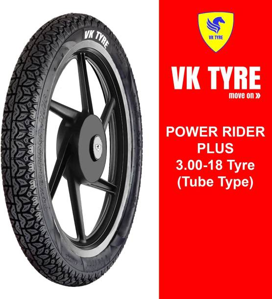 VK TYRE POWER RIDER PLUS 3.00-18 Rear Tyre