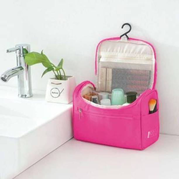 RRK IMPORT AND EXPORT Cosmetic Bag cosmetic bag, Travel Toiletry Kit, Travel Pouches Vanity Box