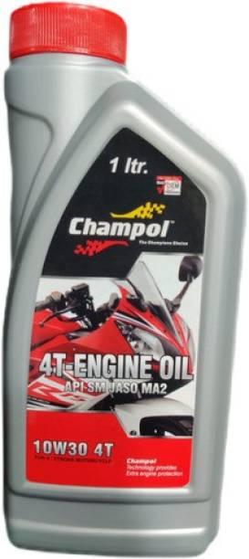 Champol 10W30 4T High-Mileage Engine Oil