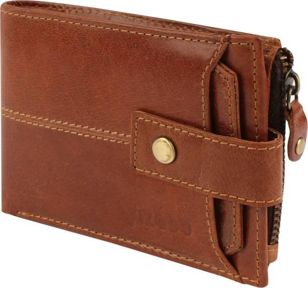 vizodo Men Casual, Trendy, Formal Tan Genuine Leather Wallet