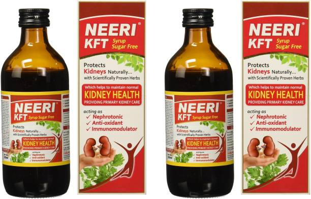 NEERI KFT Sugar Free Syrup for Improving Functional Capacity of Kidneys (Pack of 2)