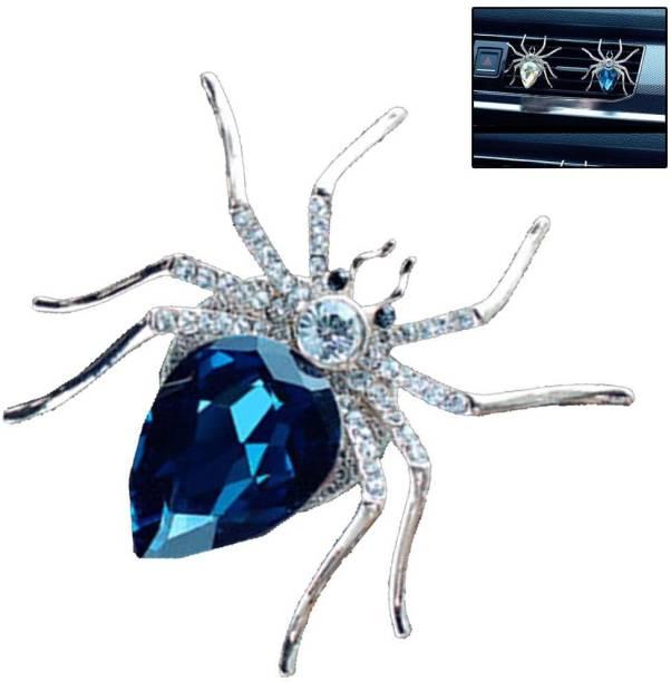 carfrill Car Perfume Accessories Diamond Spider Interior Air Vent Decorations Perfume Car Diffuser Vent Clip Air Purifier