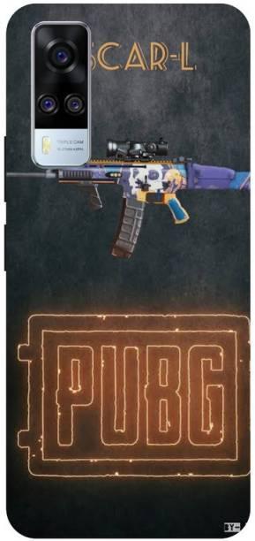 Snapcrowd Back Cover for Vivo Y51A,V2031 Pubg Scra-l Gun,Hard case cover